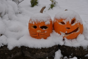 FIRST LOOK: Pattern shift could give parts of the country a WHITE Halloween