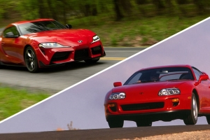 Here's How the 2020 Toyota Supra's Performance Numbers Compare to the 1993 Supra Turbo's