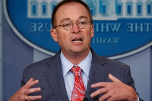 Republicans worried by Mick Mulvaney's confirmation Trump sought exchange of favors with Ukraine