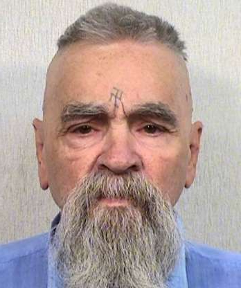 Slide 14 of 16: FILE - This Oct. 8, 2014 file photo provided by the California Department of Corrections shows 80-year-old serial killer Charles Manson. State prison officials say mass murderer Charles Manson has yet to marry a 26-year-old devotee, who insists the 1960s cult leader was wrongly convicted. California Department of Corrections and Rehabilitation spokesperson said Monday, Feb. 2, 2015, that weekend visiting for inmates passed without any nuptials for Manson; the couple's 90-day marriage license expires Thursday.