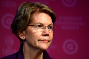 Warren warns Facebook may help reelect Trump 'and profit off of it'