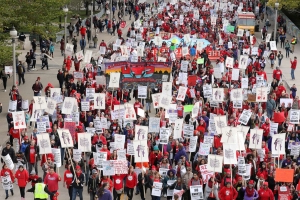 On 2nd day of Chicago teachers strike, union says progress is 'very inadequate'