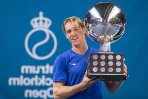 Canadian Shapovalov captures Stockholm Open for first ATP Tour title