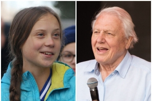 David Attenborough Sings The Praises Of Climate Change Activist Greta Thunberg