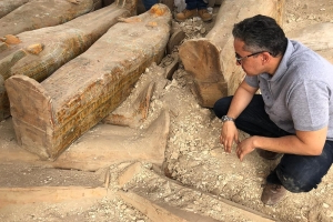 Egypt reveals details of 30 ancient coffins found in Luxor