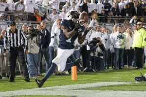 Penn State stays undefeated, narrowly holds off Michigan 28-21