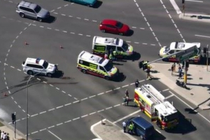 Teen motorbike rider injured after horror Sydney crash
