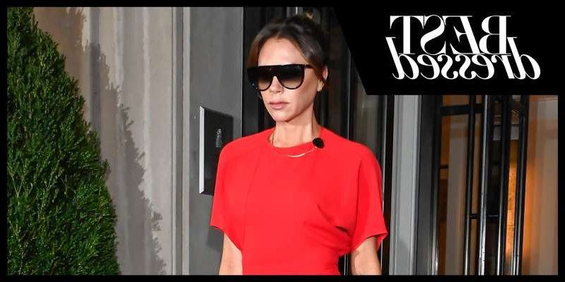 Victoria Beckham wearing sunglasses posing for the camera: From A-list parties to red-carpet premieres, we track the best celebrity style to be inspired by this week. We earn a commission for products purchased through some links in this article