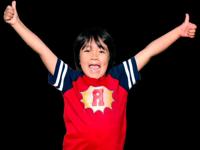 a person posing for the camera: YouTube star Ryan Kaji of Ryan ToysReview has a massive following of 22 million subscribers.