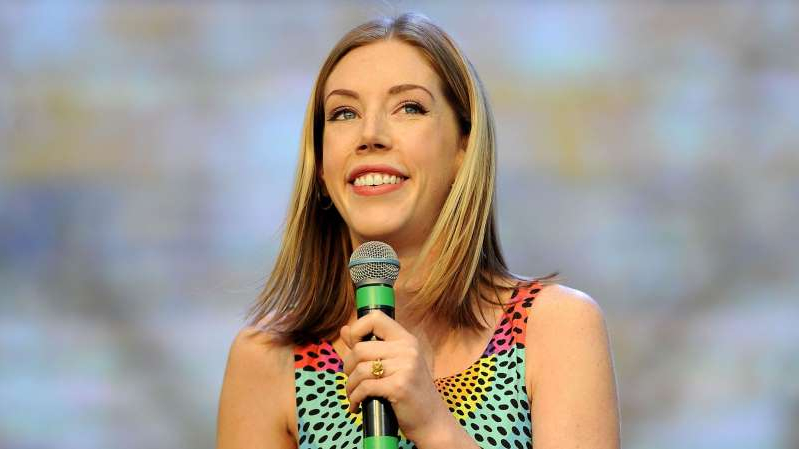 Katherine Ryan said a masked man attempted to rob her at home