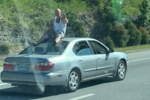 Man who rode on car has case dismissed in Wilson County; still faces Nashville charges