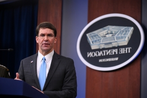 Pentagon chief says keeping some troops in northeastern Syria under discussion