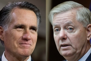 Romney and Graham leave the door open to voting to remove Trump if impeachment passes