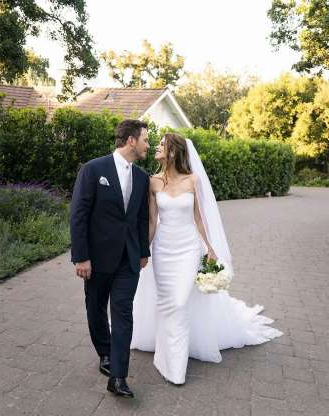 "Slide 47 of 79: The couple, who were first spotted together in June 2018, tied the knot on June 8 during an intimate ceremony in Montecito, California, sources told PEOPLE.  ""You can tell today is the happiest day for Katherine. She hasn't stopped smiling. And Chris seems giddy with excitement,"" a source said. ""The venue is beautiful. Lots of flowers and greenery everywhere. It's a very romantic setting for a wedding.""  The source added, ""The whole family took wedding photos, including her parents Maria [Shriver] and Arnold [Schwarzenegger]. Everyone just looked so happy.""  Guests in attendance included his 6-year-old son Jack, her siblings — brothers Patrick and Christopher as well as sister Christina — and close friend Rob Lowe and his sons Johnny and Matthew."