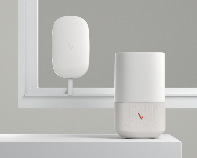 Verizon's updated 5G Home router and receiver. Verizon