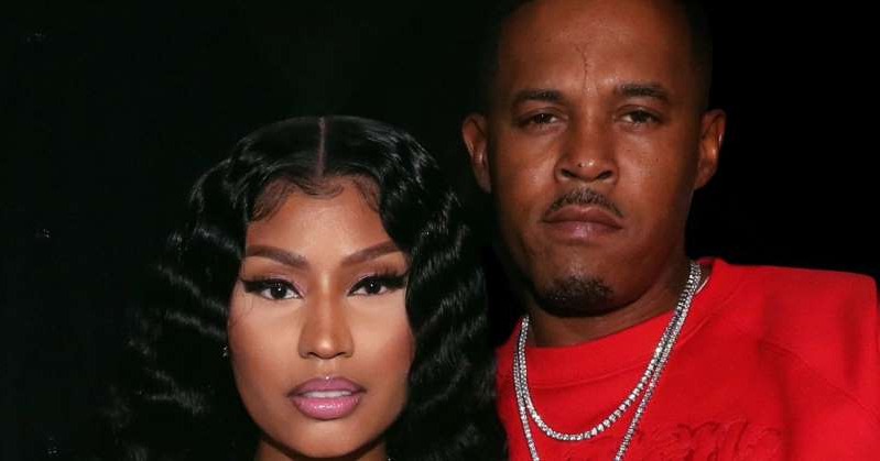 Nicki Minaj posing for the camera: Nicki Minaj Is Married! Rapper Weds Kenneth Petty After Less Than a Year of Dating