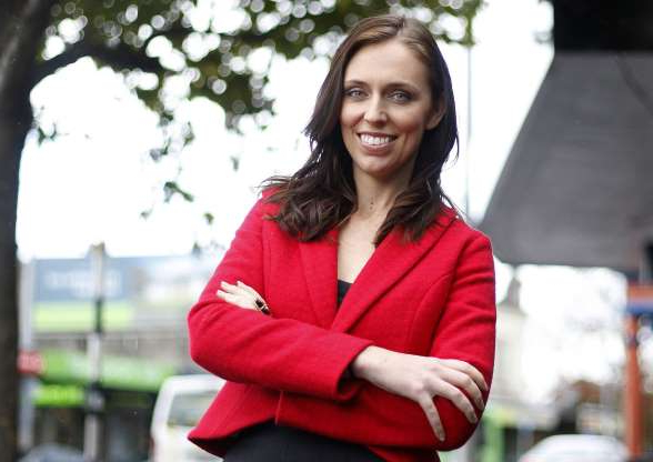 Slide 2 of 17: New Zealand Labour Party MP, Jacinda Ardern, New Zealand 28 Apr 2011