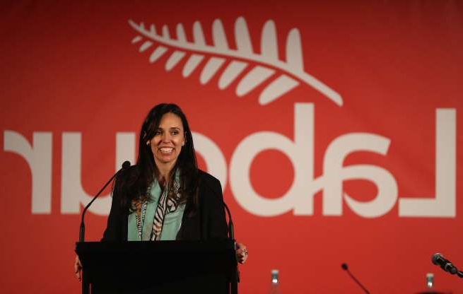 Slide 4 of 17: AUCKLAND, NEW ZEALAND - NOVEMBER 17: Labour Party politician Jacinda Ardern speaks during the Labour Party Annual Conference at Ellerslie Racecourse on November 17, 2012 in Auckland, New Zealand. The 96th annual conference takes place in Ellerslie over two days, amidst rumours David Shearer's party leadership may be challenged. (Photo by Sandra Mu/Getty Images)