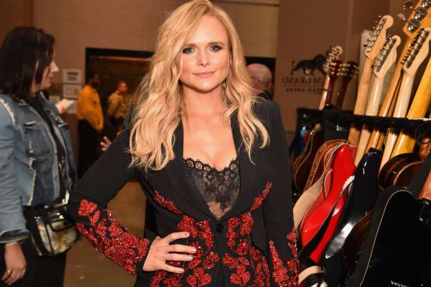 Slide 62 of 68: LAS VEGAS, NV - APRIL 15:  Miranda Lambert attends the 53rd Academy of Country Music Awards at MGM Grand Garden Arena on April 15, 2018 in Las Vegas, Nevada.  (Photo by Jeff Kravitz/ACMA2018/FilmMagic for ACM)
