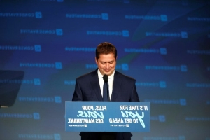 'This is the first step': Scheer delivers concession speech, praises Tory election performance