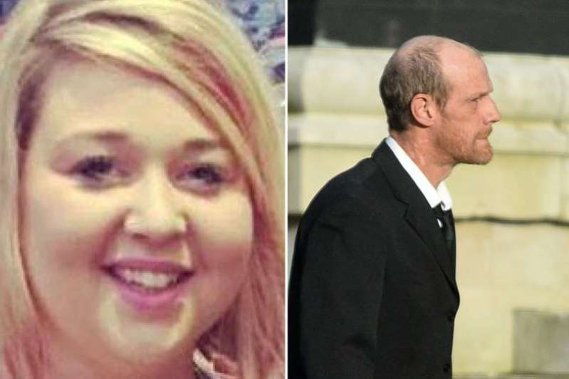 a man and a woman smiling for the camera: Neil Brooks denies causing the death of Sophie Brimble by dangerous driving