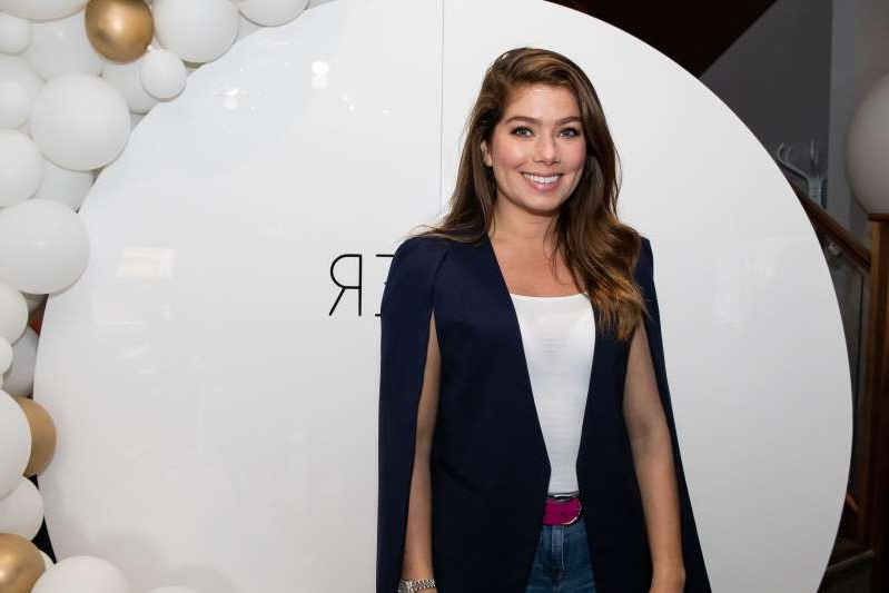 MANCHESTER, ENGLAND - SEPTEMBER 01: Nikki Sanderson attends Laser HQ launch at bar one eighty eight on September 01, 2019 in Manchester, England. (Photo by Carla Speight/Getty Images)