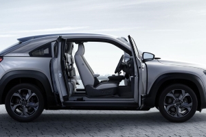Mazda MX-30 Electric Crossover Has Doors Like the RX-8's