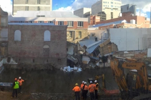 Myer sues building and engineering companies over 2016 Hobart Rivulet flood