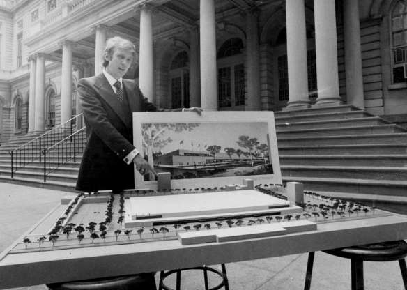 Slide 3 of 30: UNITED STATES - MAY 25: Donald Trump, at City Hall announces 34th Street Convention Center (Photo by Frank Russo/NY Daily News Archive via Getty Images)