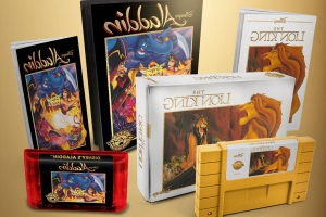 16-bit 'Aladdin' and 'Lion King' cartridges are returning in 2020