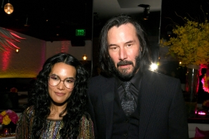 Keanu Reeves picked up a lot of Ali Wong swag