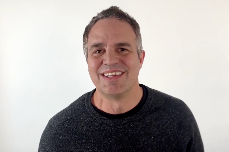 Mark Ruffalo smiling for the camera: The American actor has campaigned against fracking gas for the past ten years