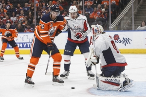 Edmonton Oilers come from two down to knock off Capitals in overtime