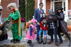 7 Photos That Prove Just How Much Justin Trudeau Loves Halloween
