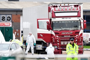 Essex Lorry Deaths: Police Search For Driver Who Delivered Container To Belgian Port Before 39 People Discovered Dead