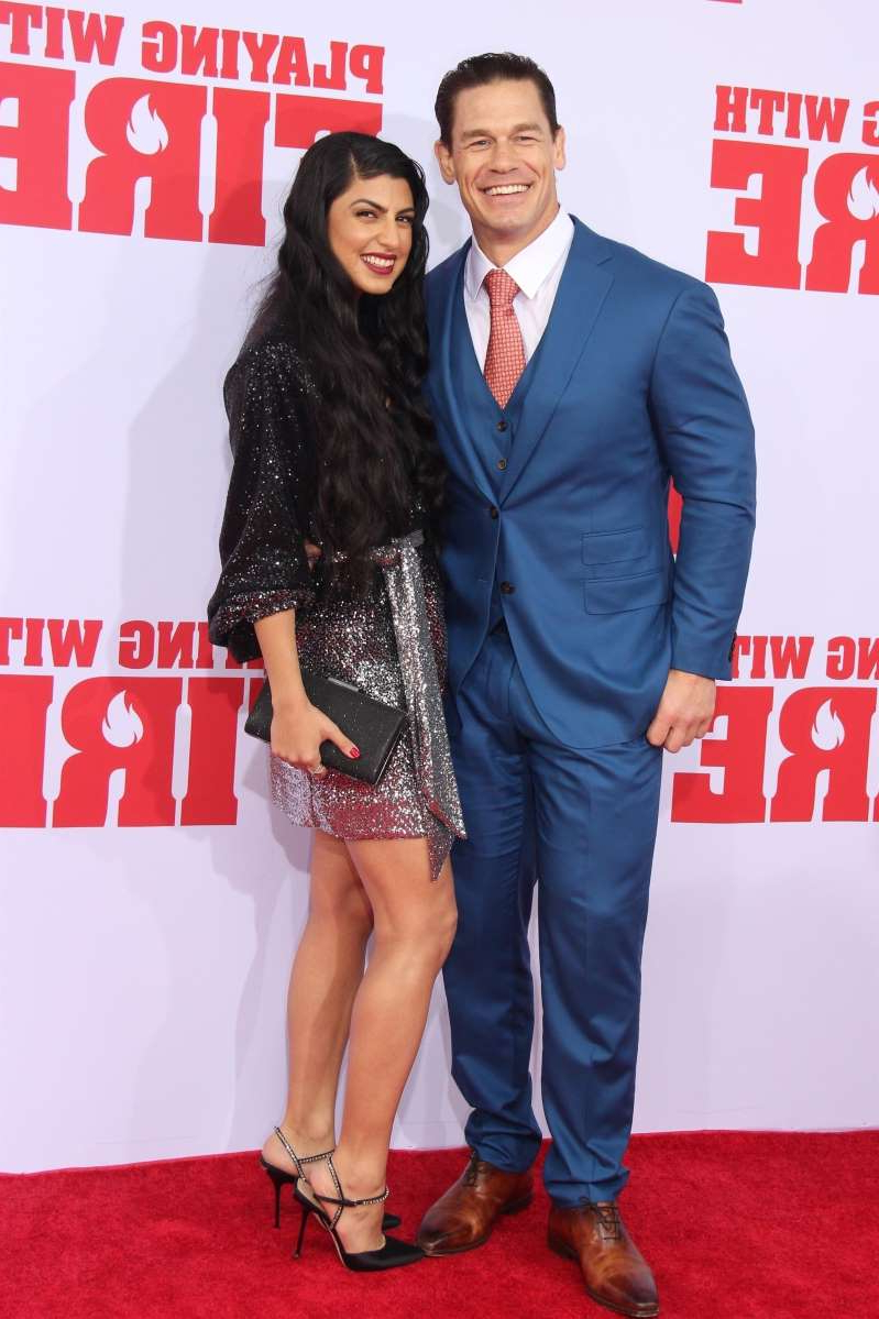 Entertainment John Cena Makes Red Carpet Debut With