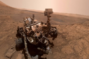 NASA's Curiosity rover just snapped another adorable selfie