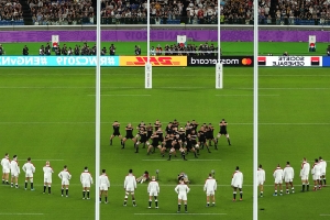 England set to be fined for haka counter-move