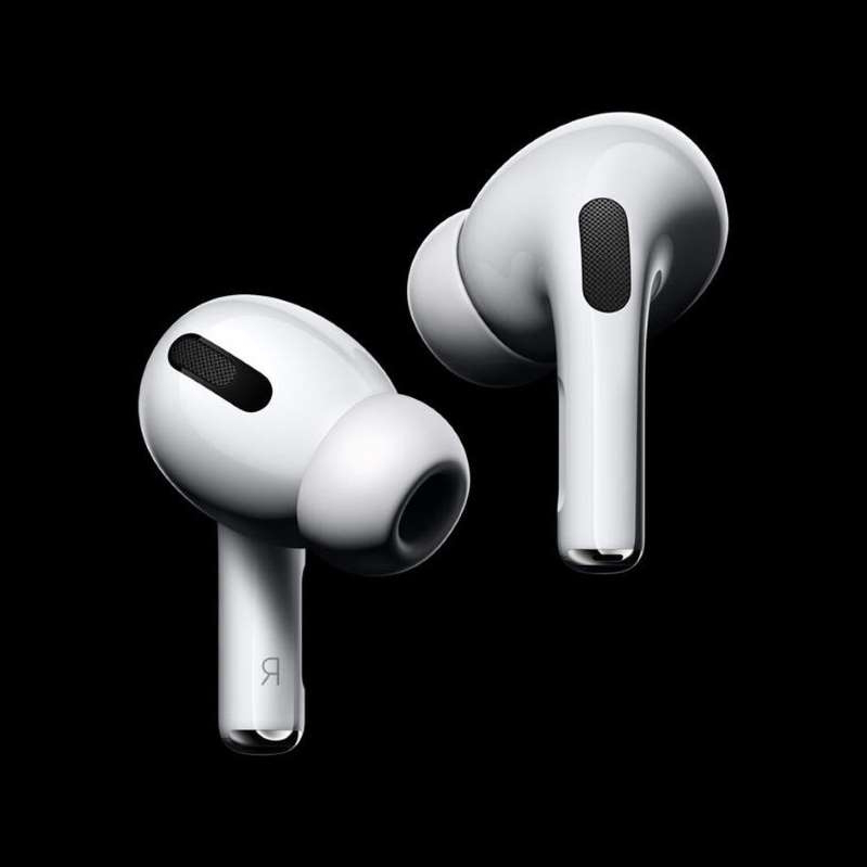 The newest addition to Apple's AirPods lineup. Apple