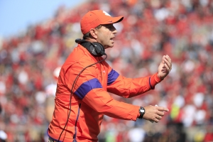 Dabo Swinney insists he doesn't care about outside noise. His comments suggest otherwise
