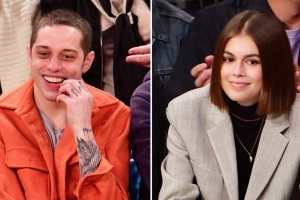 Pete Davidson and Kaia Gerber Sit Separately at Basketball Game After Spending Time Together
