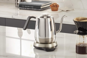This high-tech electric gooseneck precision kettle is half off, today only