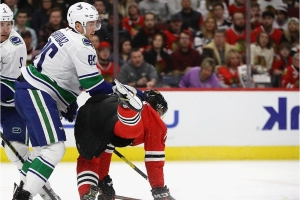 Canucks recall road warrior Ashton Sautner