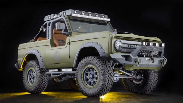 Slide 1 of 6: 1969 Ford Bronco SEMA Build Up For Grabs