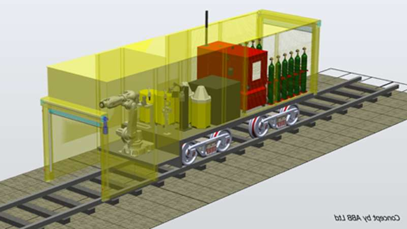 Amey Automated Rail Refurbishment Concept