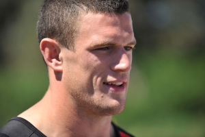 Luke Burgess refuses to comment on retiring brother Sam's intimidation charge