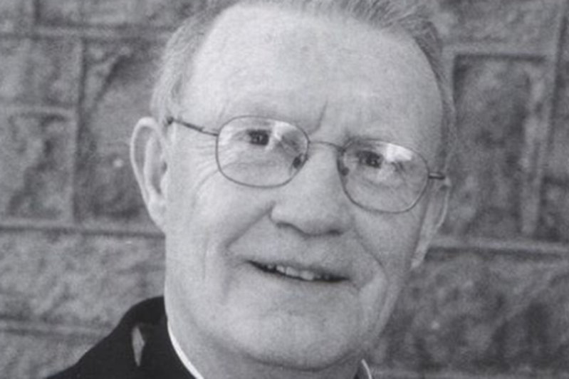 a man wearing glasses posing for the camera: Fr Anthony Minniter