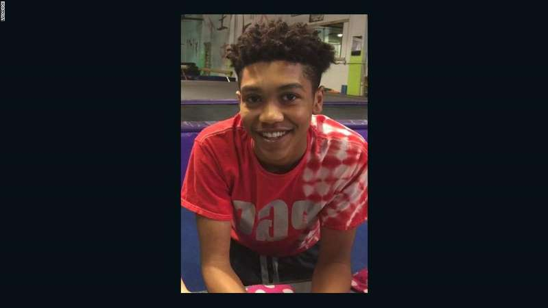 a screen shot of a boy: Antwon Rose was shot and killed by a police officer.