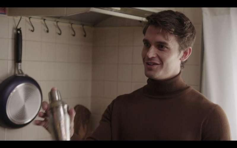 a person standing in front of a mirror posing for the camera: Antoni's Food Lessons From 'Queer Eye: Japan'