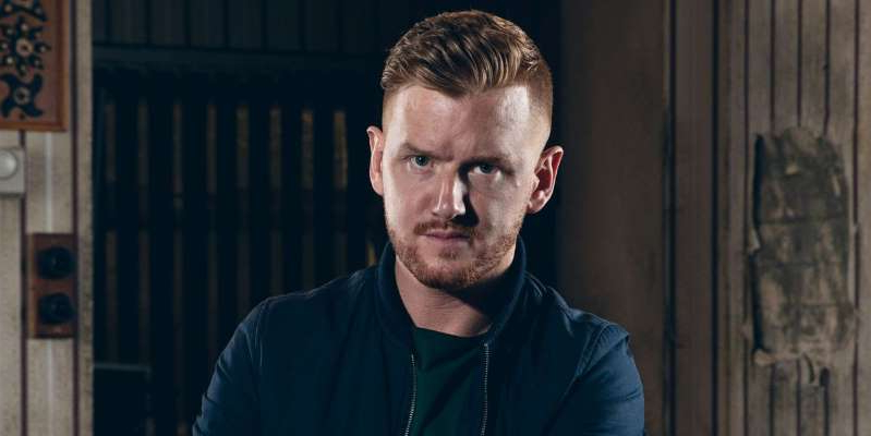 Mikey North in a blue shirt: Coronation Street star Mikey North has hinted that Gary Windass's new romance with Maria Connor is doomed to fail.